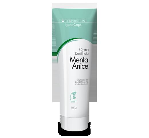 Crema dentifricia Menta-Anice