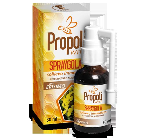Spraygola alla Propoli