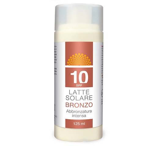 Latte Solare Bronzo – SPF 10